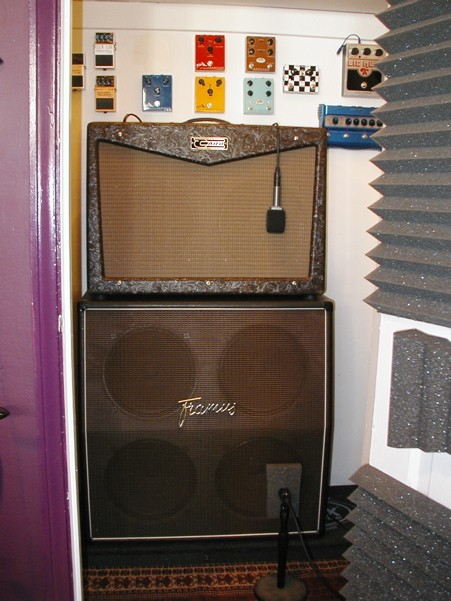 Recording Studio: The Amp Room