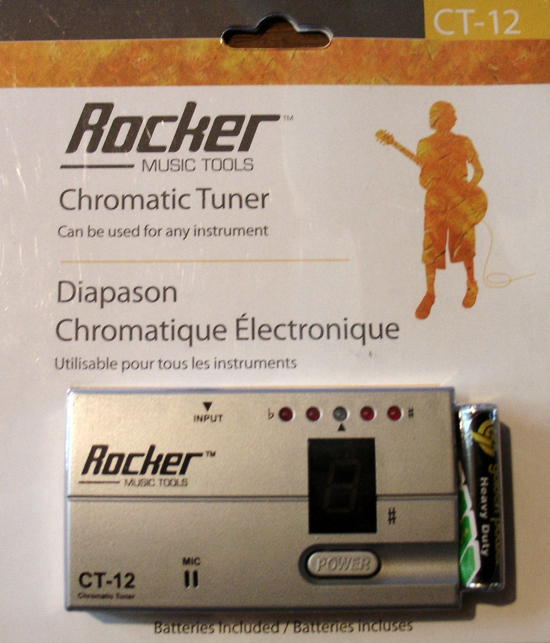 Rocker Chromatic Tuner