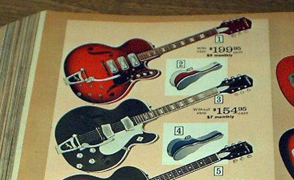 Sears Catalog: Silvertone Guitars from Sears