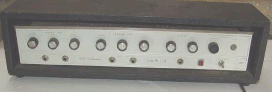 Silvertone 1464 Solidstate Twin Twelve Guitar Amp Head