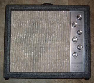 Silvertone amp 1482