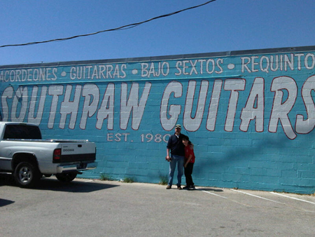 Mike & Troy at Southpaw Guitars in Houston, TX