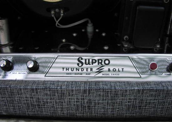 Supro Thunderbolt Amp (back)