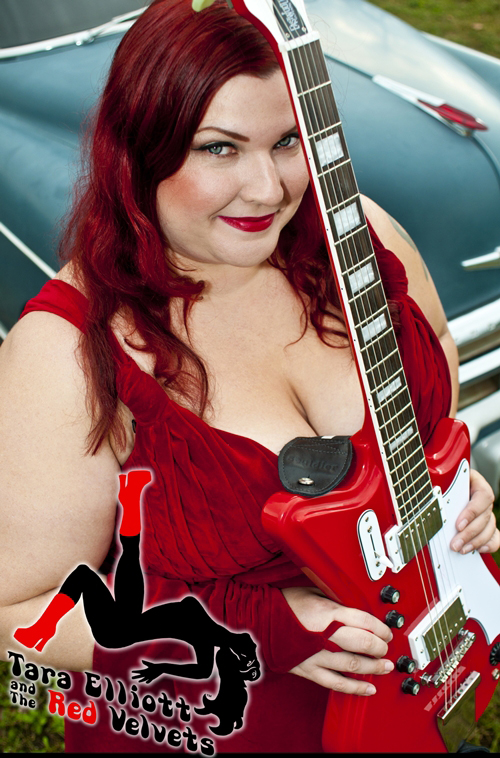 Tara Elliot (The Red Velvets) - Airline 2P Guitar