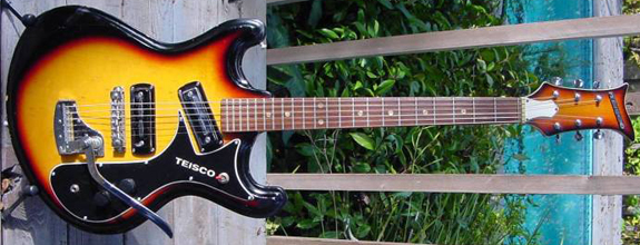 Reproduction Teisco Mosrite Ventures Model Guitar