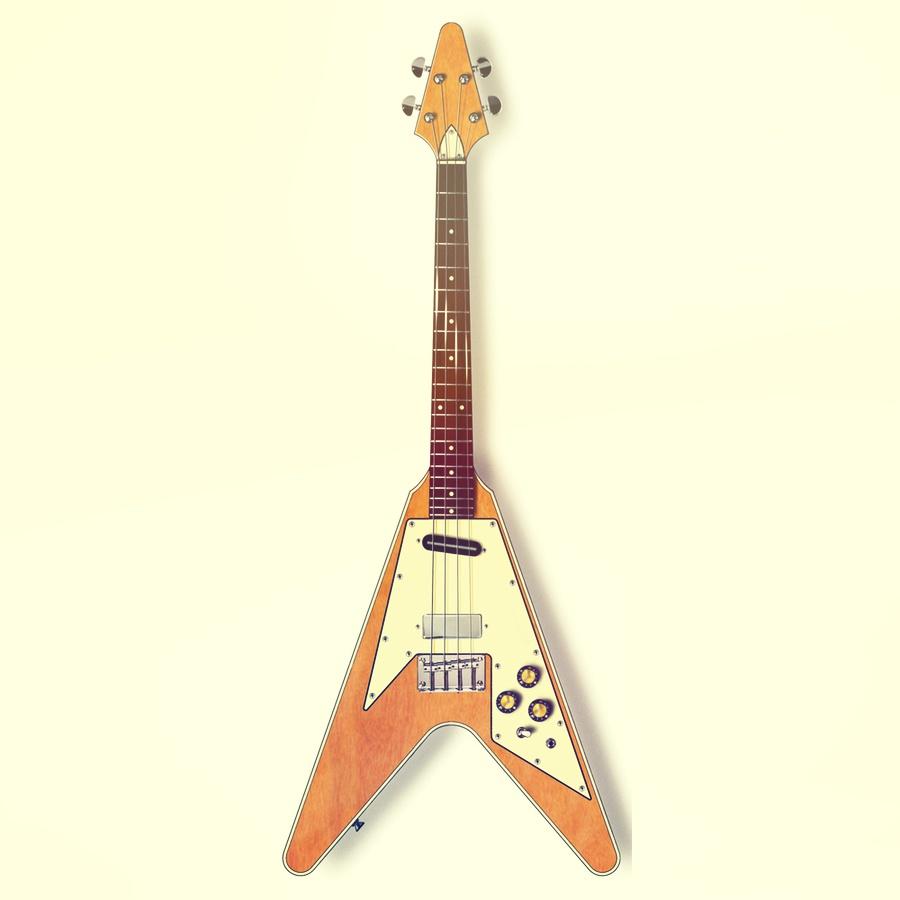Eastwood Custom Flying TV tenor guitar