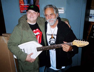 Me with Tommy Chong