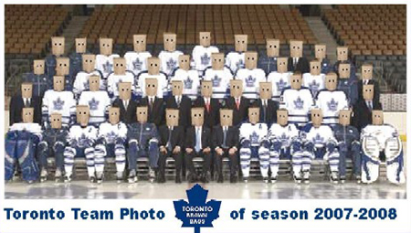 Toronto Maple Leafs Team Photo (2007-2008 Season)