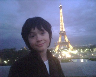 Troy in Paris (Eiffel Tower in background)