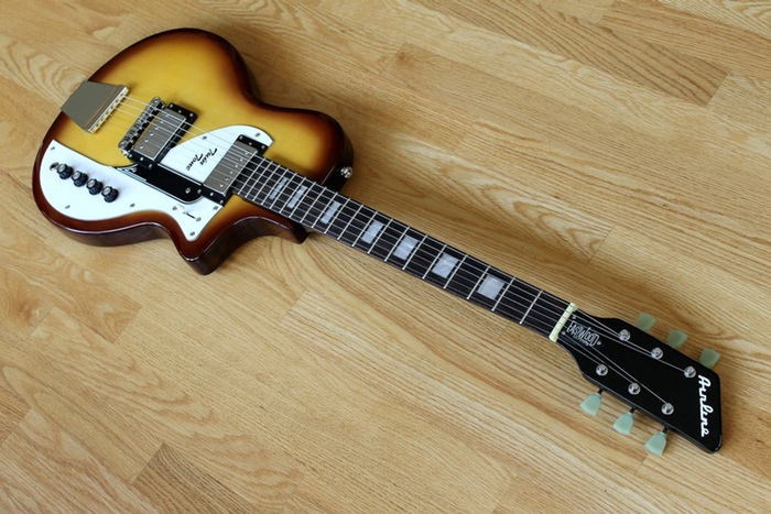 Airline Twin Tone Honeyburst - Only 12 Made ...