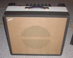 univox 202r guitar amplifier (with apto badge)