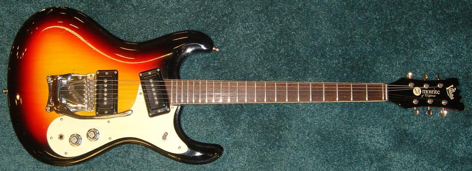 Vintage Mosrite guitar