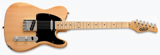 Valco Chicago '52 Electric Guitar (Natural Blonde)