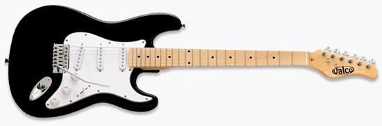 Valco Chicago '55 Electric Guitar (Black)