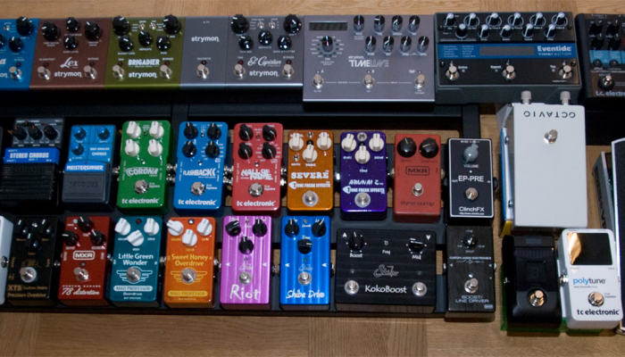 The Stomping Ground – Cascading Overdrive/Distortion