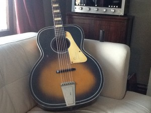 Vintage 1950's True Tone Acoustic Guitar