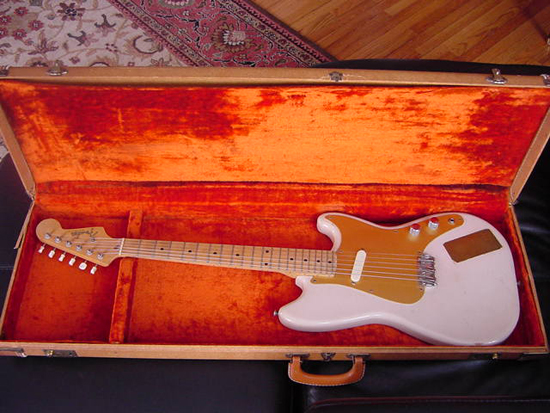 Vintage 1959 Fender Musicmaster Electric Guitar