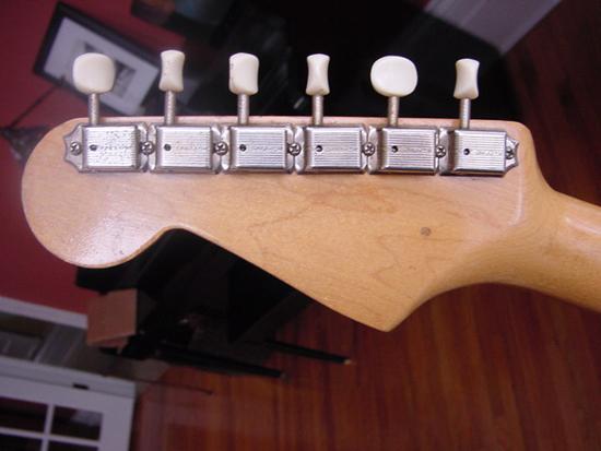 Vintage 1959 Fender Musicmaster Electric Guitar