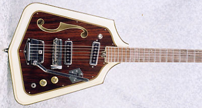 Vintage 1960's Domino Californian Rebel Electric Guitar