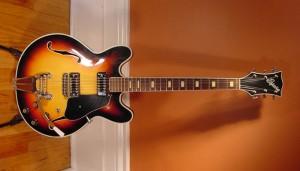 Vintage 1960's Espana 335 Electric Guitar