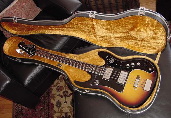 Vintage 1960's Espana Bass Guitar (Sunburst)