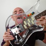 Vintage 1960's Teisco Plexi Spectrum 5 Guitar