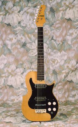 Vintage 1961 Carvin SGB-3 Electric Guitar