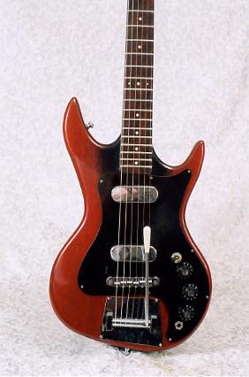Vintage 1961 Fenton-Weill Tux-Master Electric Guitar