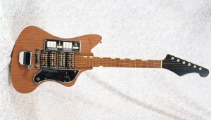 Vintage 1963 Teisco SD-4L Electric Guitar
