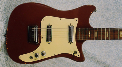 Vintage 1964 Alamo Titan Mark II Electric Guitar