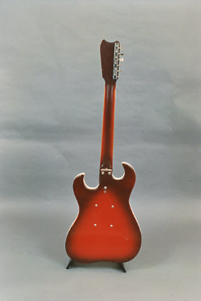 Vintage 1964 Silvertone 1457 Electric Guitar with Amp-in-Case