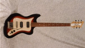 Vintage 1965 Murphy Squire Electric Guitar