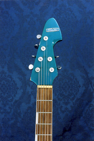 Vintage 1965 Silvertone Teisco 1437 Electric Guitar