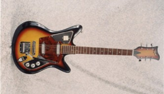 Vintage 1966 Imperial S-2T Electric Guitar
