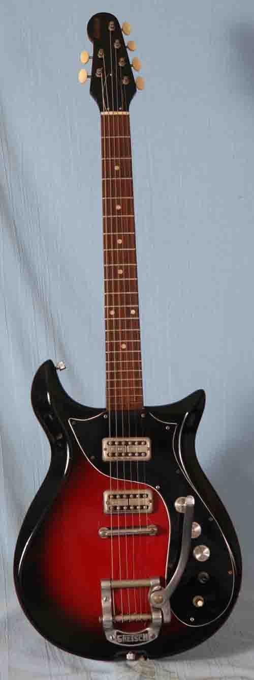 Vintage 1967 Gretsch Corvette 6135 Electric Guitar