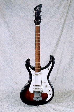 Vintage 1967 Guyatone LG-160T Electric Guitar