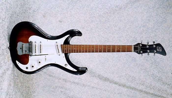 Vintage 1967 Guyatone LG-160T Electric Guitar