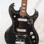 Vintage 1967 TeleStar Professional Sparkle 5002 Electric Guitar