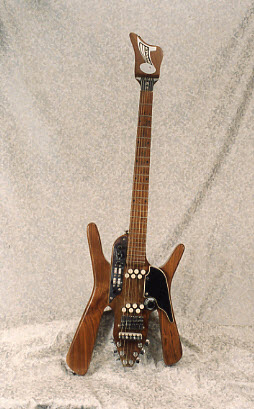 Vintage 1968 Bunker Astral Sunstar Electric Guitar