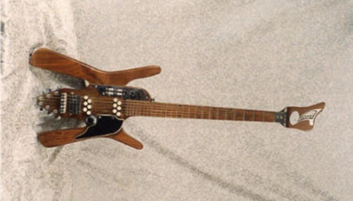 Vintage 1968 Bunker Astral Sunstar Electric Guitar