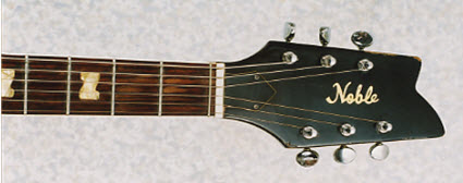 Vintage 1968 Noble EG 686-2HT Electric Guitar