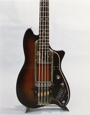 Vintage 1979 Ovation Magnum II Bass Guitar