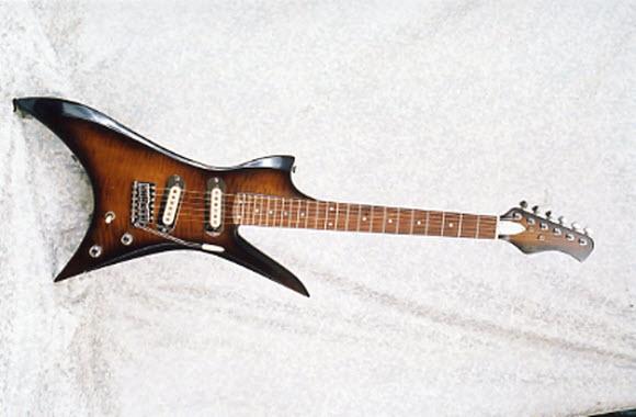Vintage 1983 Hondo H-2 Electric Guitar