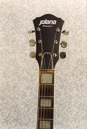 Vintage 1983 Jolana Diamant I Electric Guitar