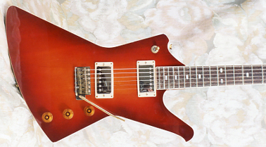 Vintage 1984 Quest Atak-6 MK II Electric Guitar