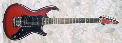 Vintage 1985 Aria Pro II Knight Warrior Electric Guitar