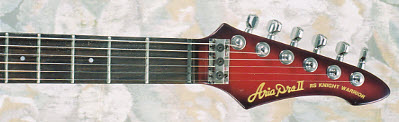 Vintage 1985 Aria Pro II Knight Warrior Electric Guitar