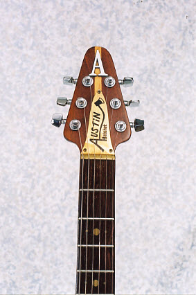 Vintage 1985 Austin Hatchet Electric Guitar