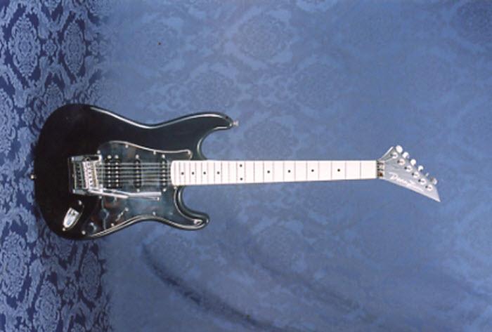 Vintage 1987 Dean Z Autograph Electric Guitar
