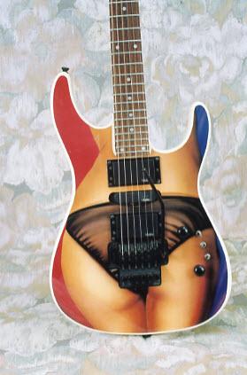 Vintage 1990 Vester Concert II Electric Guitar